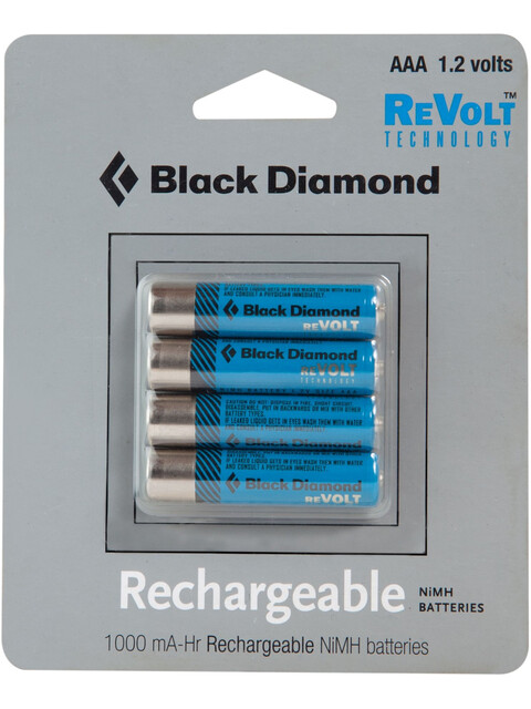 Black Diamond BD AAA Rechargeable Battery 4-Pack